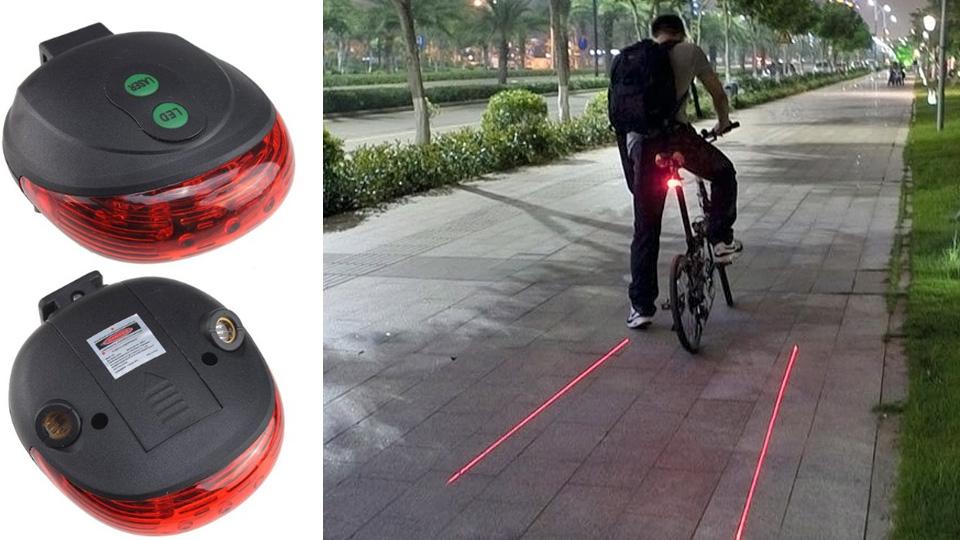 自分の背後に纏う赤い光...安全性に配慮した自転車用テールライトがかっこいい | ギズモード・ジャパン