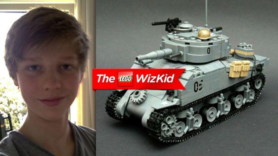 天才現る...14歳のレゴ名人
