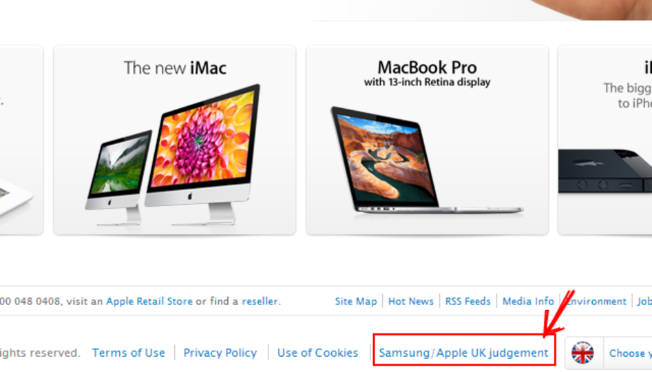 英法廷、アップルに「サムスンはマネしてません」広告書き直しを命じる