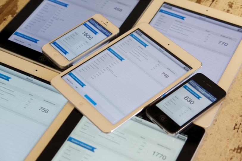 【 #iPadmini 】A6世代プロセッサ強し! 歴代iPadとiPhone 5+4Sベンチマーク対決!