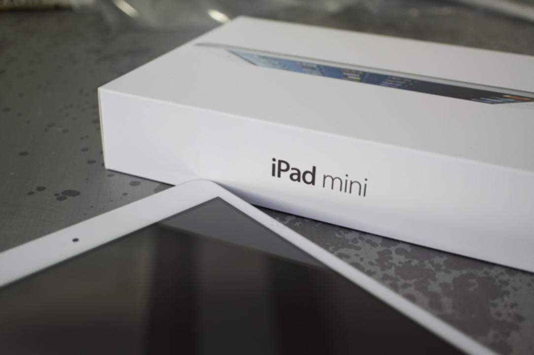 【 #iPadmini 】細部までものすごく綺麗! iPad miniアンボックスフォトギャラリー