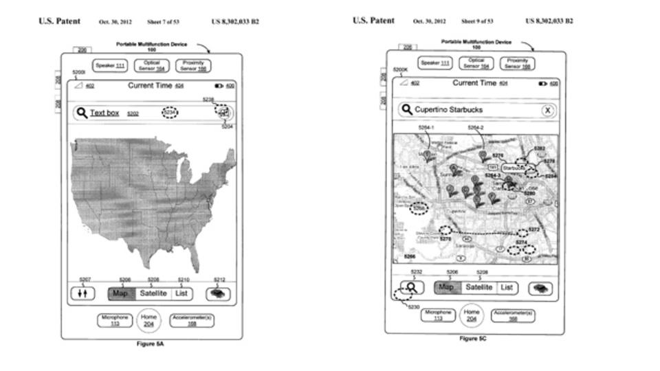 アップル、タッチスクリーンの地図で特許を取得。グーグルマップへの影響は...?