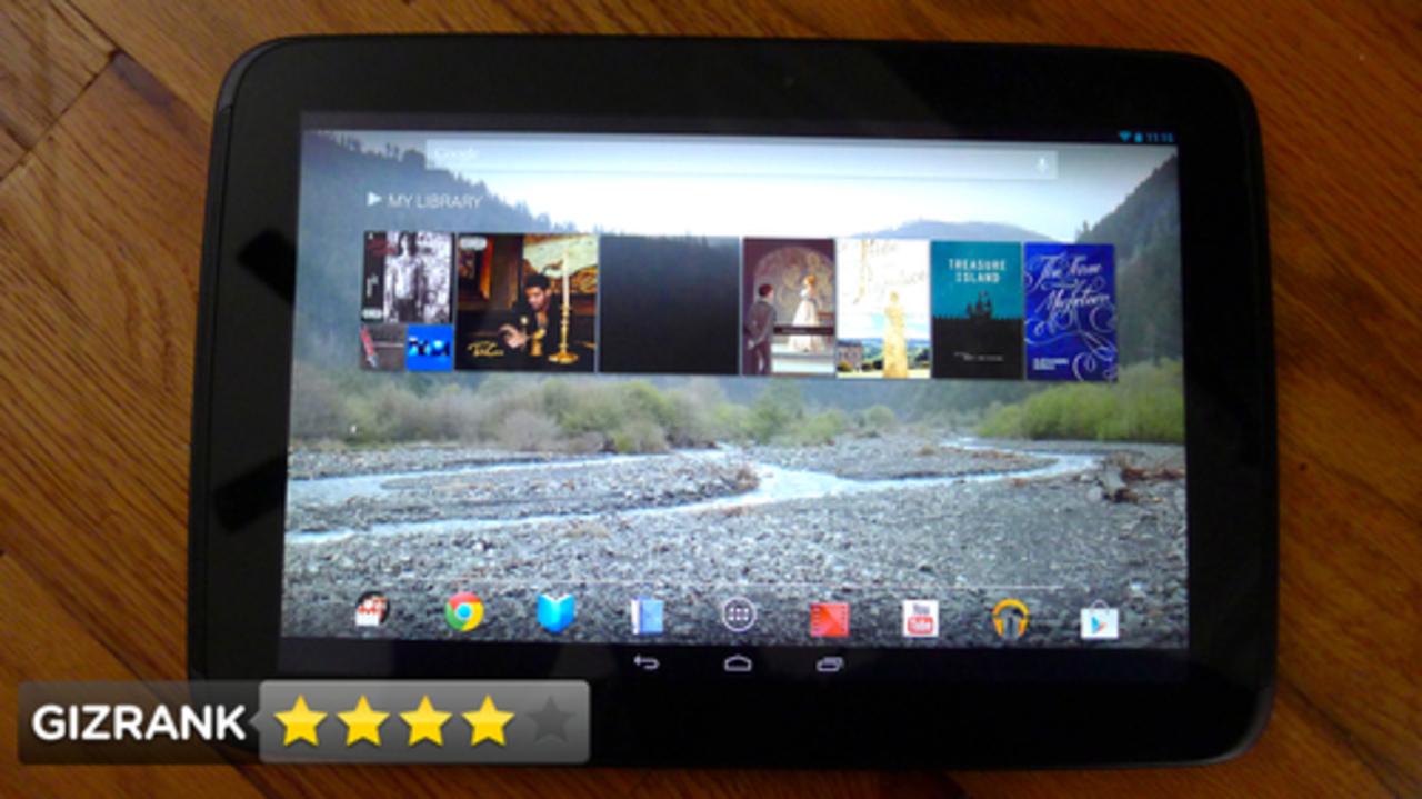 Nexus 10:速くて画面は美しく、コストパフォーマンス高し!