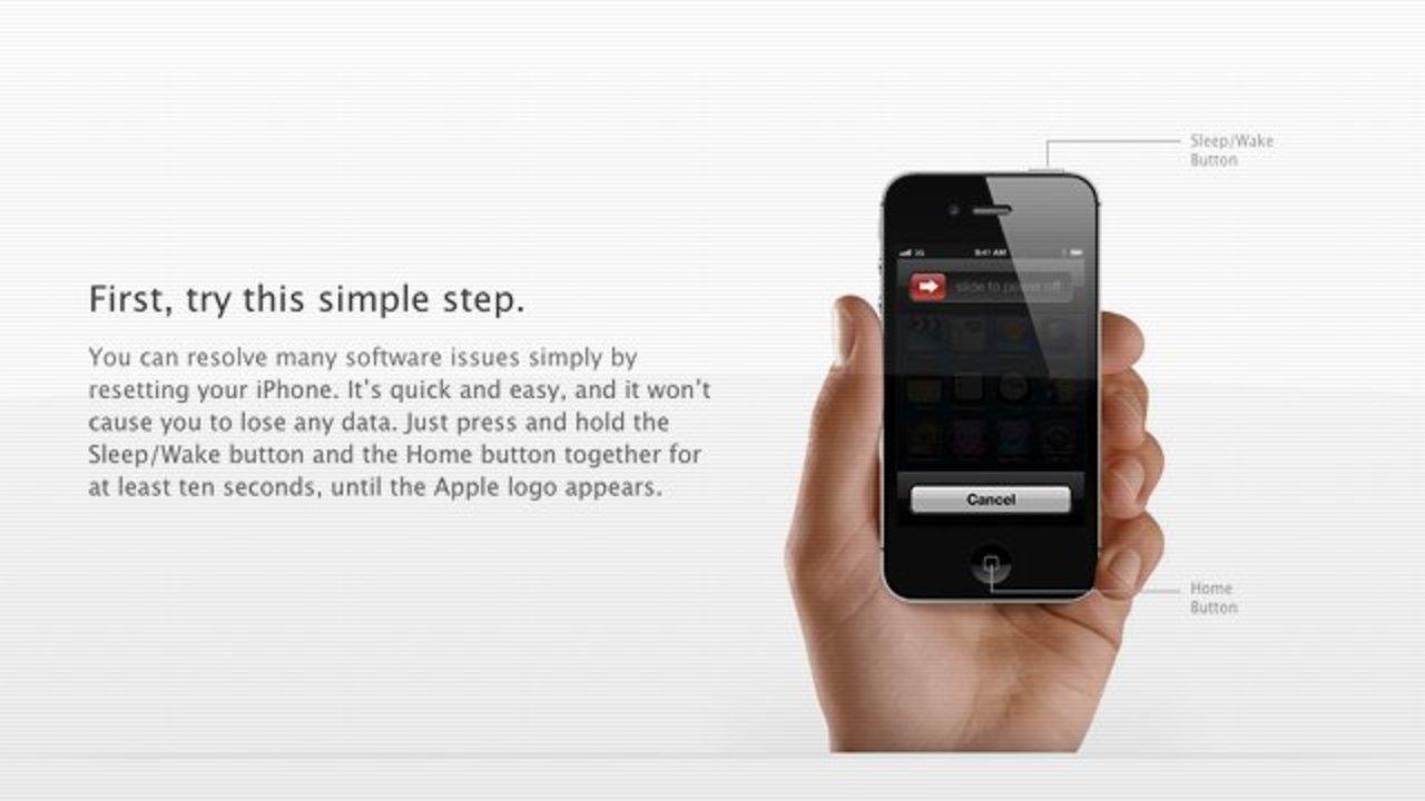 「ジーニアス・バーに行く前にiPhoneの再起動を」アップルが呼びかけ(一部修正しました)