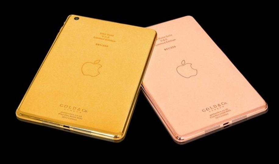 バブリーな貴方へ...iPad miniの「24金」仕様が登場!