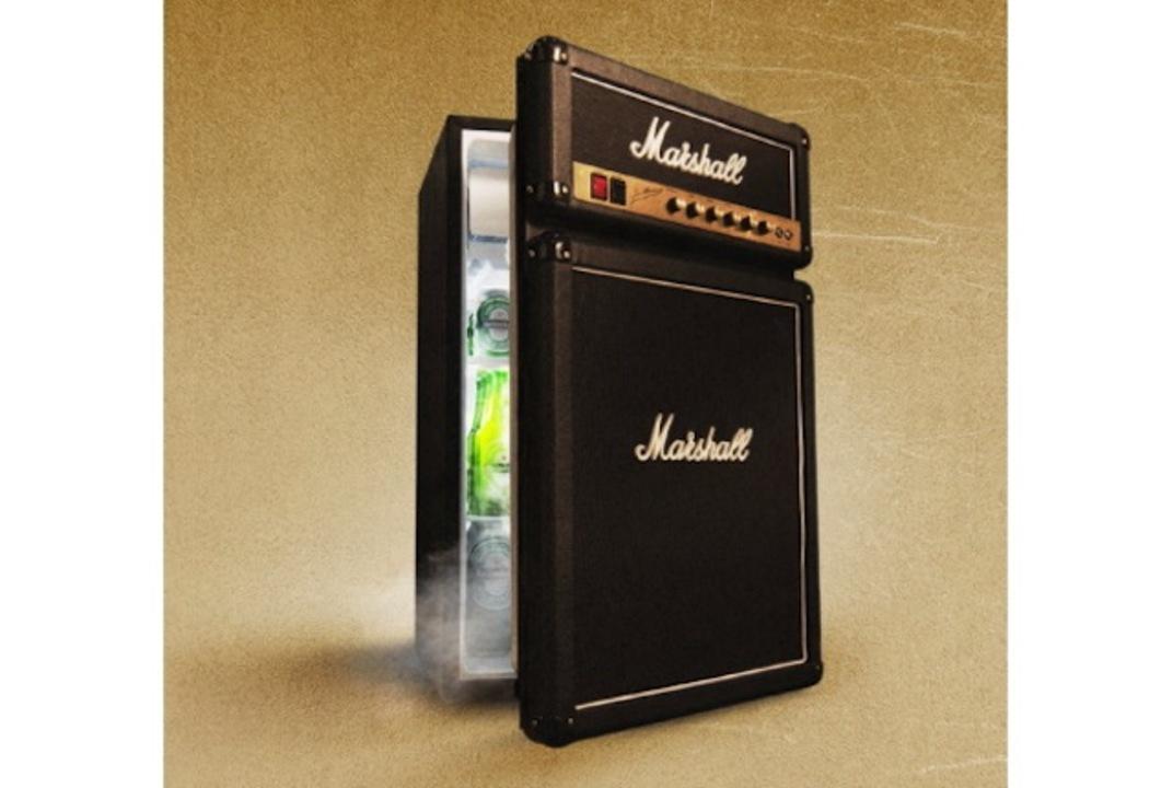 ギタリスト必見! マーシャルのアンプにしか見えない冷蔵庫