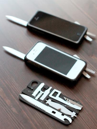 アーミーナイフとしても使えるよ、このiPhoneケースならね!(動画あり)