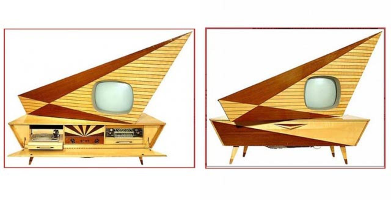 1950年代に作られた奇抜なデザインのテレビがめちゃくちゃカッコいいから、見て! みてみて!