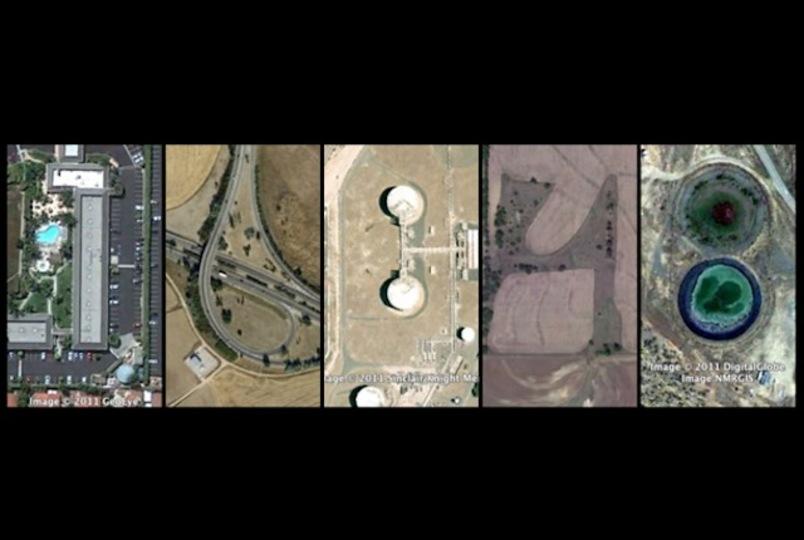 時間泥棒なデスクトップ時計「Google Earth Clock」