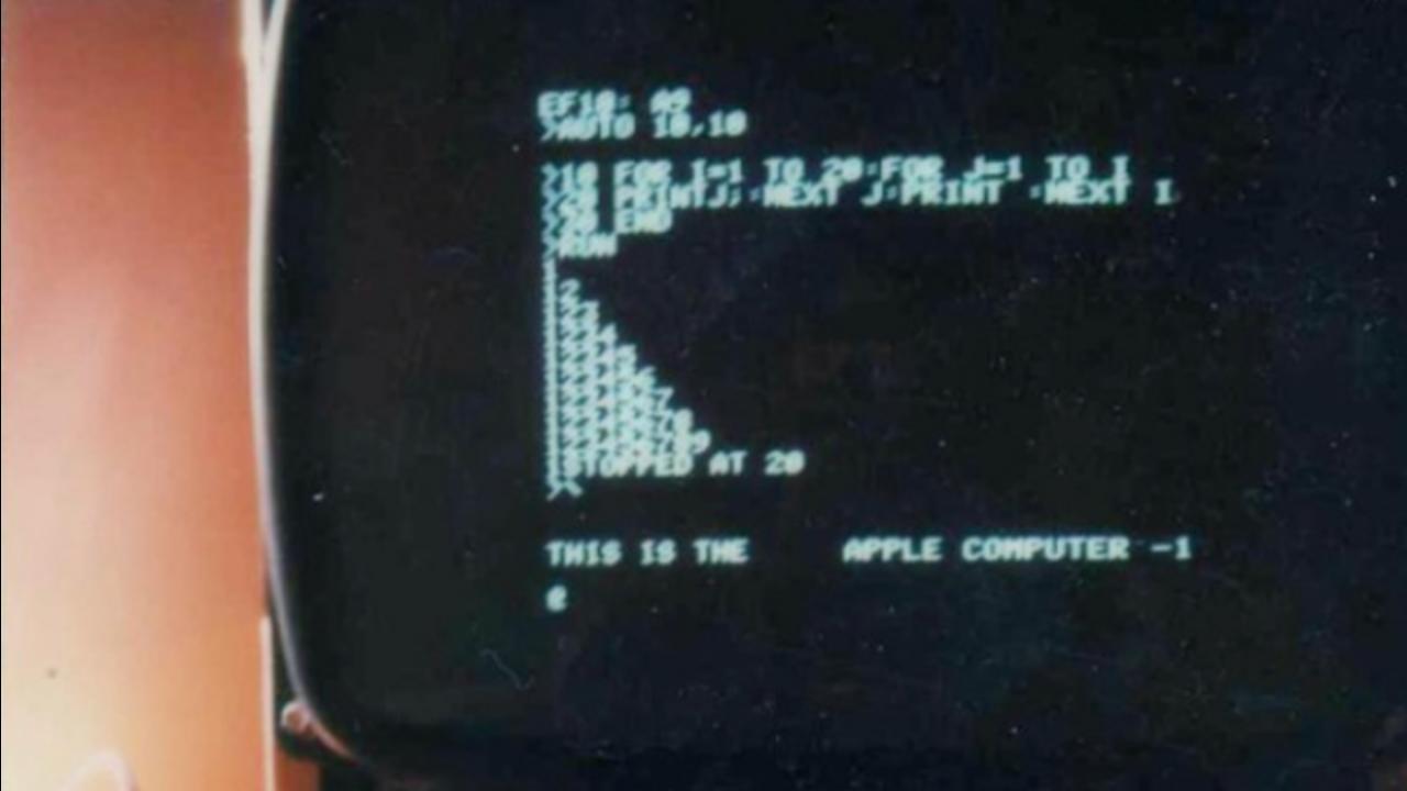 36年の時を経て、公開。アップル・コンピューター最古のポラ写真