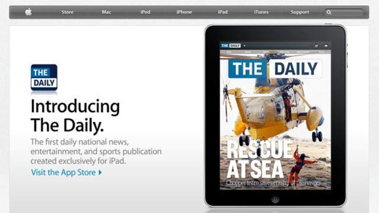 世界初のiPad新聞「The Daily」が2年であえなく廃刊...中の人が見た創刊の修羅場