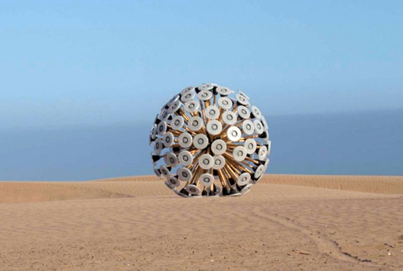 世界を変えるデザイン「風力で動く地雷除去装置」
