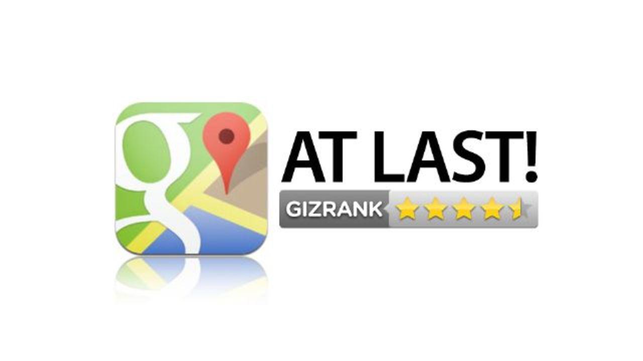 Google Maps iOS版レビュー:地図アプリのあるべき姿