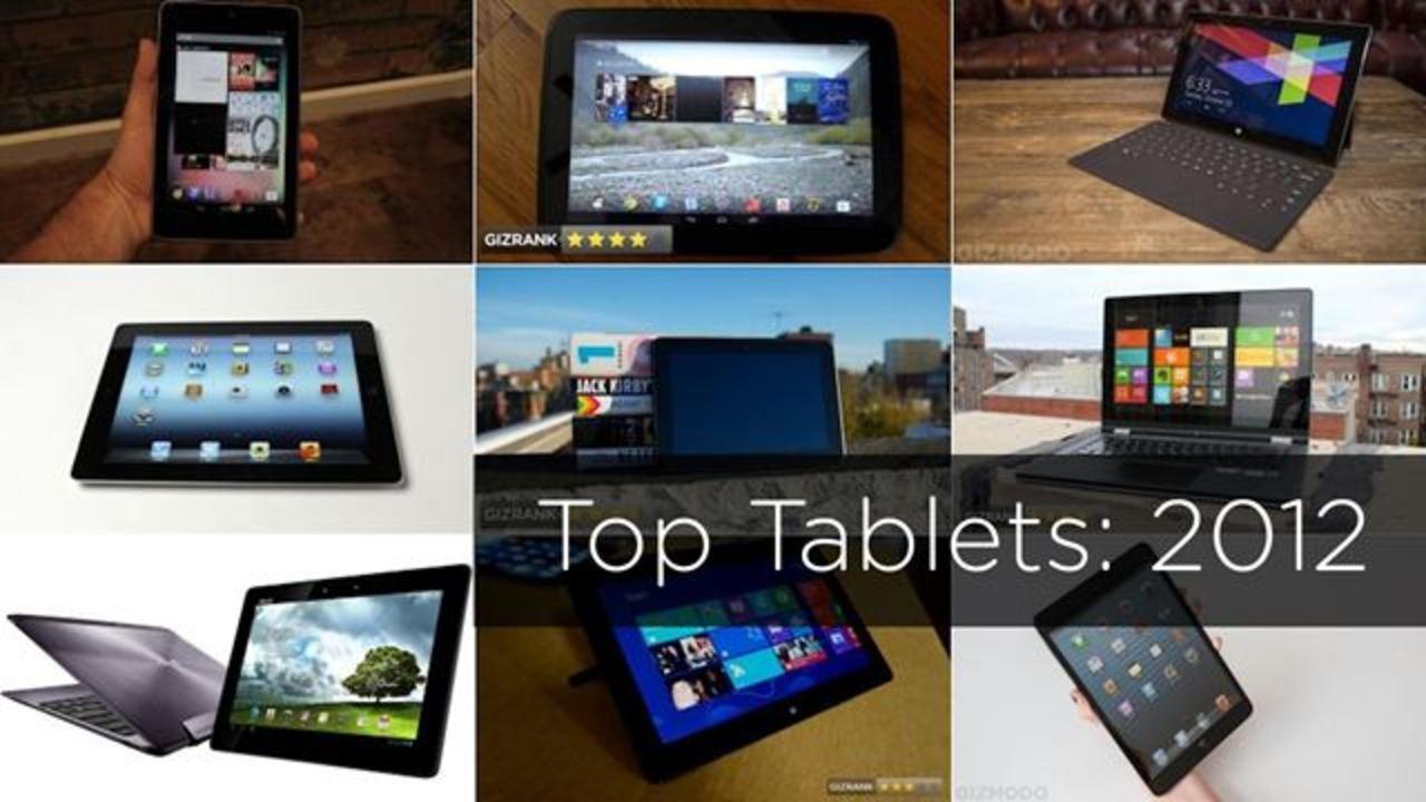 【BEST of 2012】今年発売の最重要タブレット10選