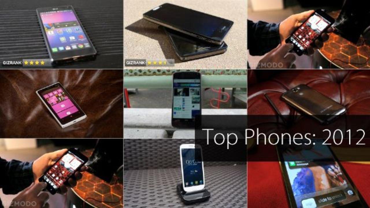 【BEST of 2012】今年を代表するスマートフォン、ベスト9!