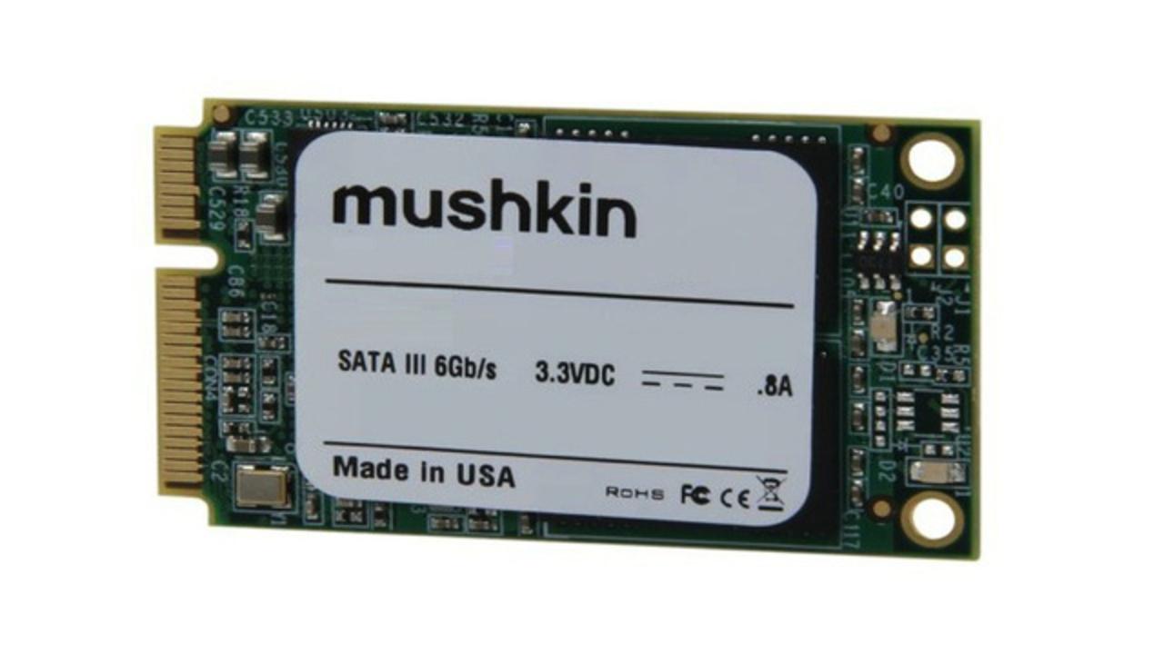 Ultrabookもアップグレード可能。Mushkin、世界初480GB「mSATA SSD」を2013年1月に発売