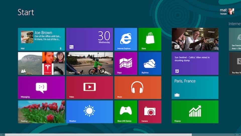 Windows 9アルファ版の情報がリーク。これがWindows Blueなのか?