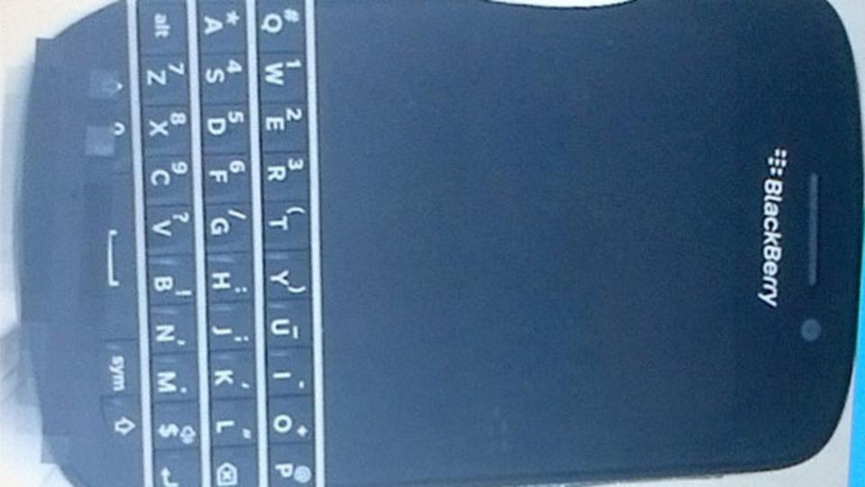 BlackBerry 10、QWERTYキーボード搭載のNシリーズ画像がリーク