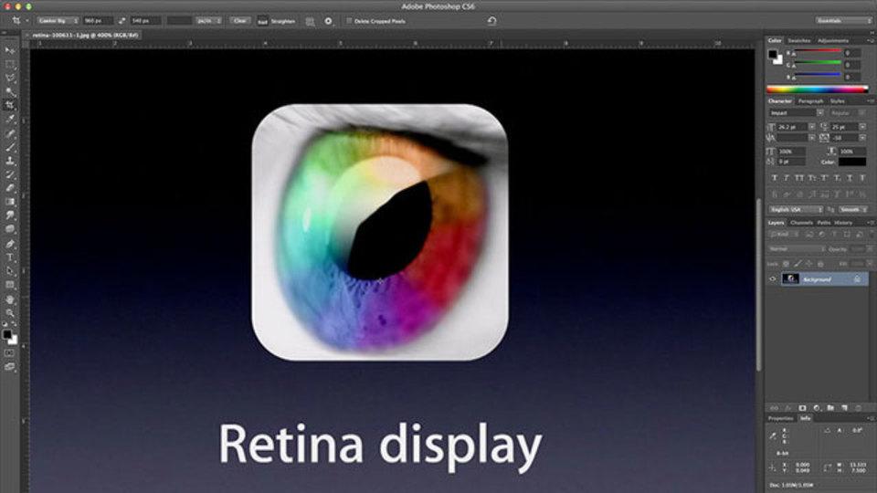 【速報】PhotoshopとIllustratorがRetinaディスプレイ対応開始