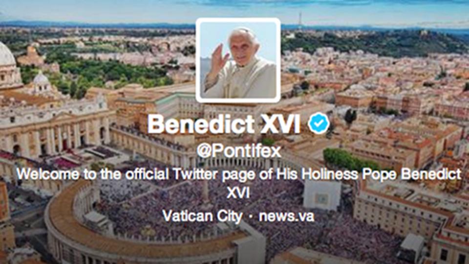 ローマ法王のツイッター初投稿、実は法王ではない人が送っていた?
