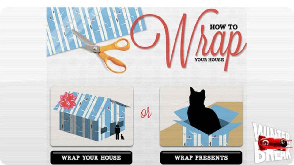 家を1軒プレゼント予定、そんなリッチさん必見の「家をラッピングしたらいくらかかる?」がわかるサービス