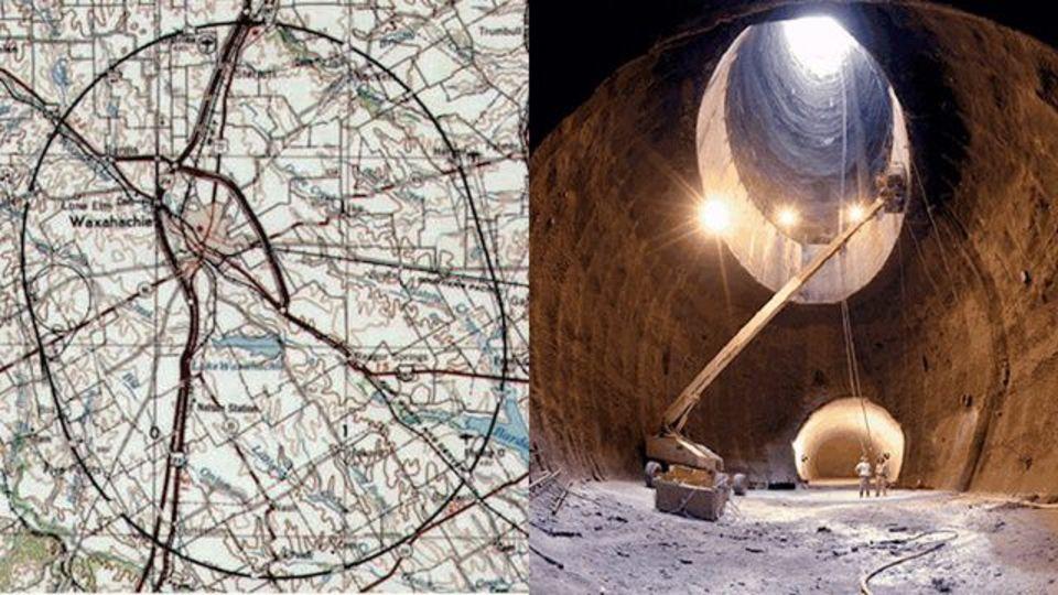 未完の巨大LHC、テキサスに眠る