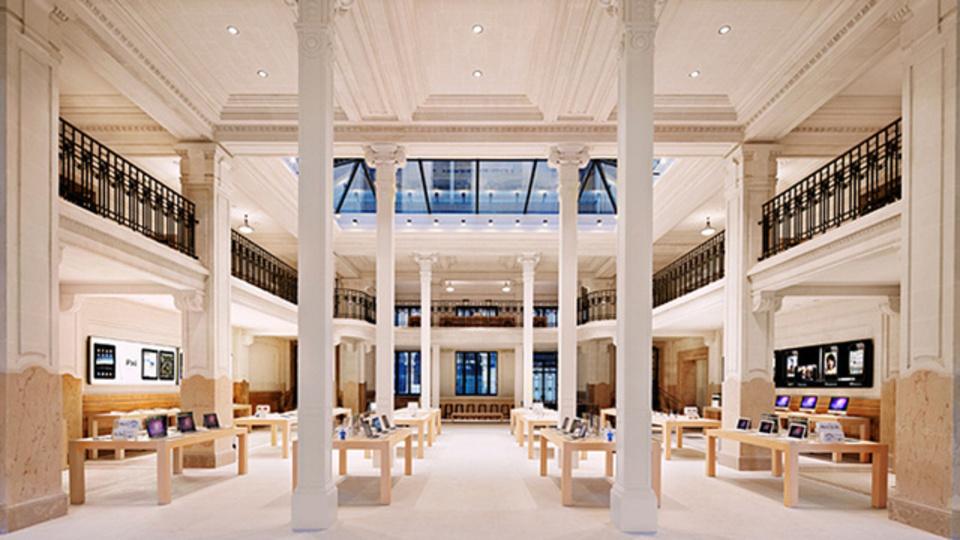 パリのAppleストアに強盗が入る。被害総額1億円以上?