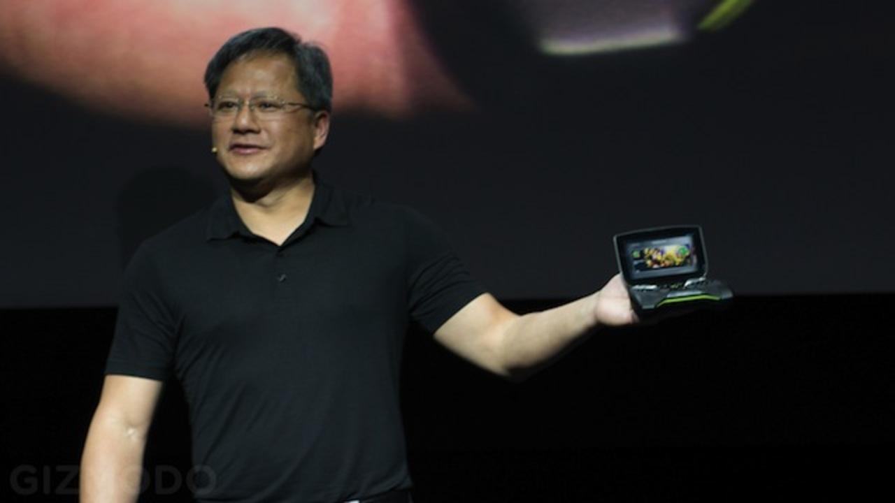 [ #CES2013 ]いきなり出たー! NVIDIA、Tegra 4搭載で4K出力が可能な携帯ゲーム機「Project SHIELD」を発表