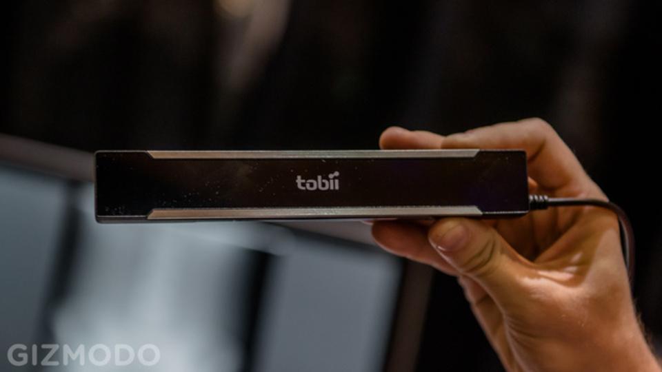 [ #CES2013 ]視線だけでコンピューター操作、さらに洗練されたTobii