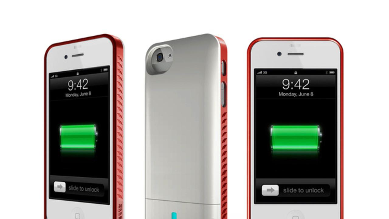 [ #CES2013 ]iPhone5用! バッテリー内蔵ケースが出ます