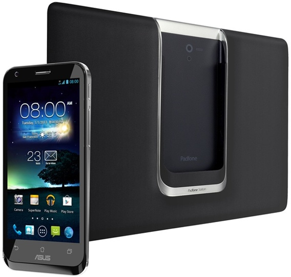 SIMフリーでスマホとタブレットが楽しめる「PadFone 2」国内発売決定(写真ギャラリーあり)