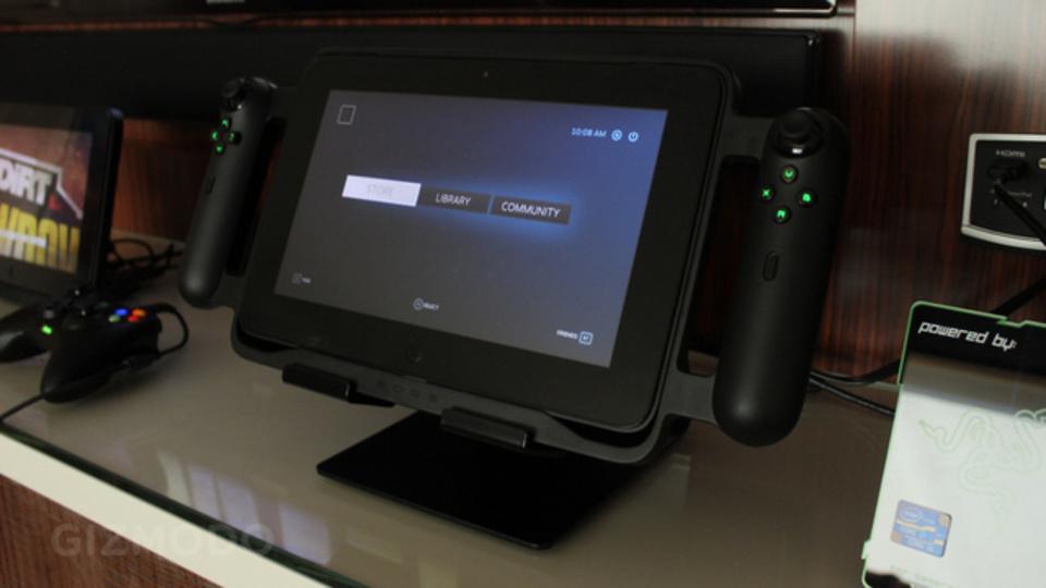 [ #CES2013 ]Razer Edge:ゲーム用だけど汎用でもベスト! なWindows 8タブレット
