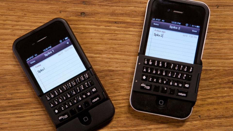 [ #CES2013 ]iPhoneをBlackBerry化させる物理キーボード