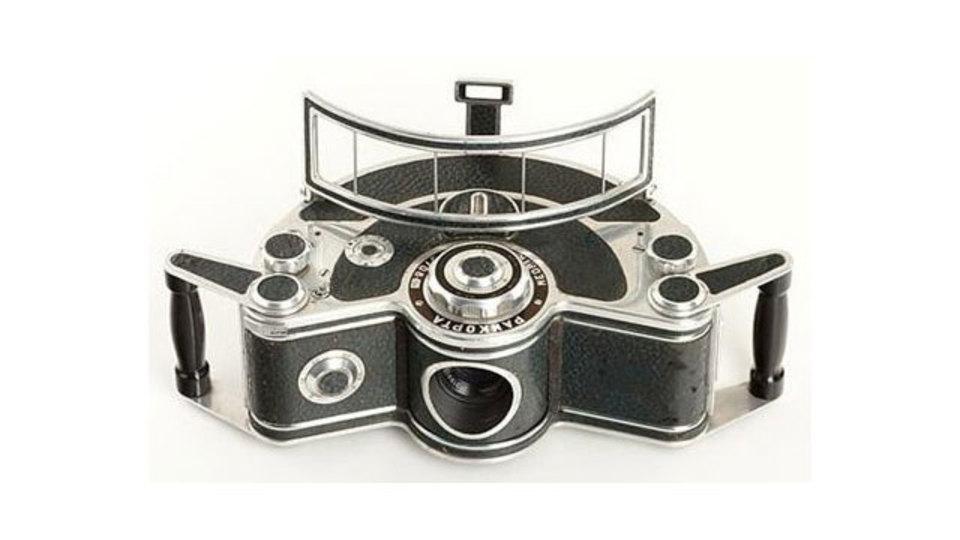 ちょっとヘンテコな昔のカメラギャラリー
