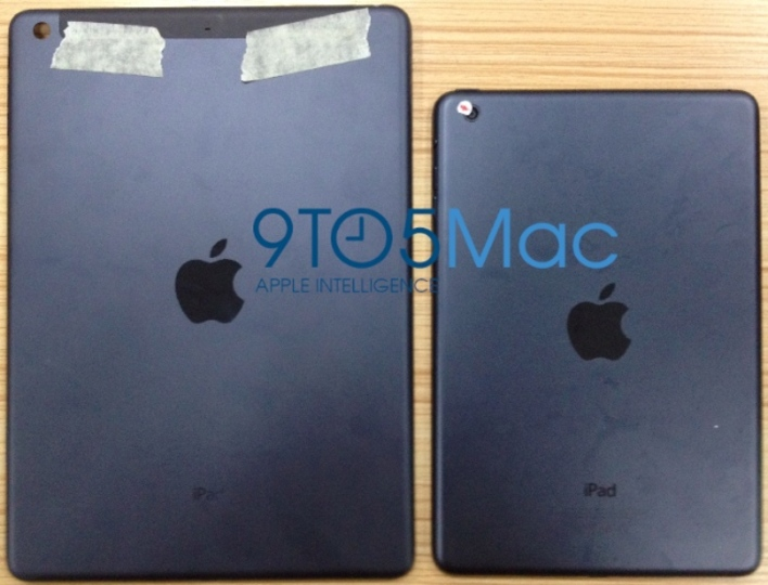 iPad 5はiPad mini風になるのか!? バックパネルがリークされたようです