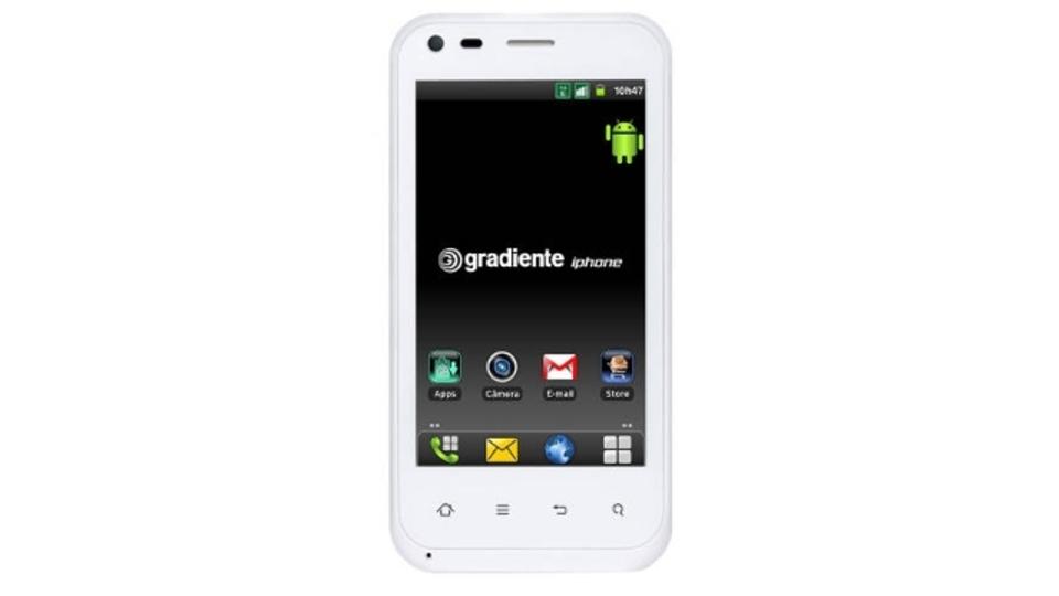 ブラジルで新登場の「iphone」はAndroid2.3、2GBの容量に非マルチタッチ