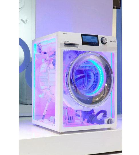 [ #CES2013 ]CESで見た! お蔵入り決定ぽいガジェット、スケスケ洗濯機