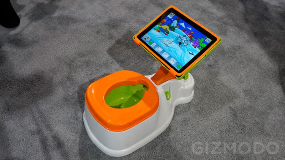 [ #CES2013 ]トイレトレーニングはiPadつきおまるでもっと楽しくするですー!