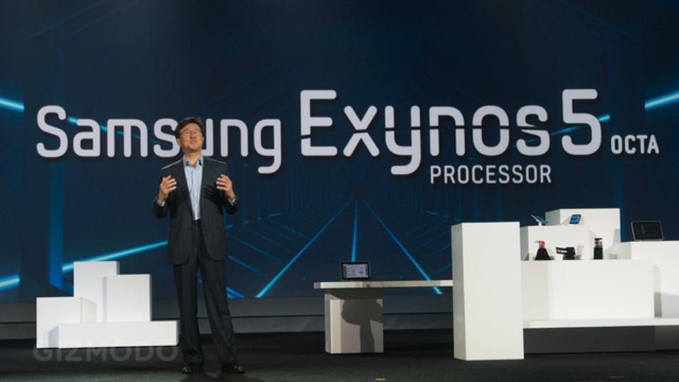 [ #CES2013 ]サムスンの新モバイル用8コアプロセッサ「Exynos 5 Octa」