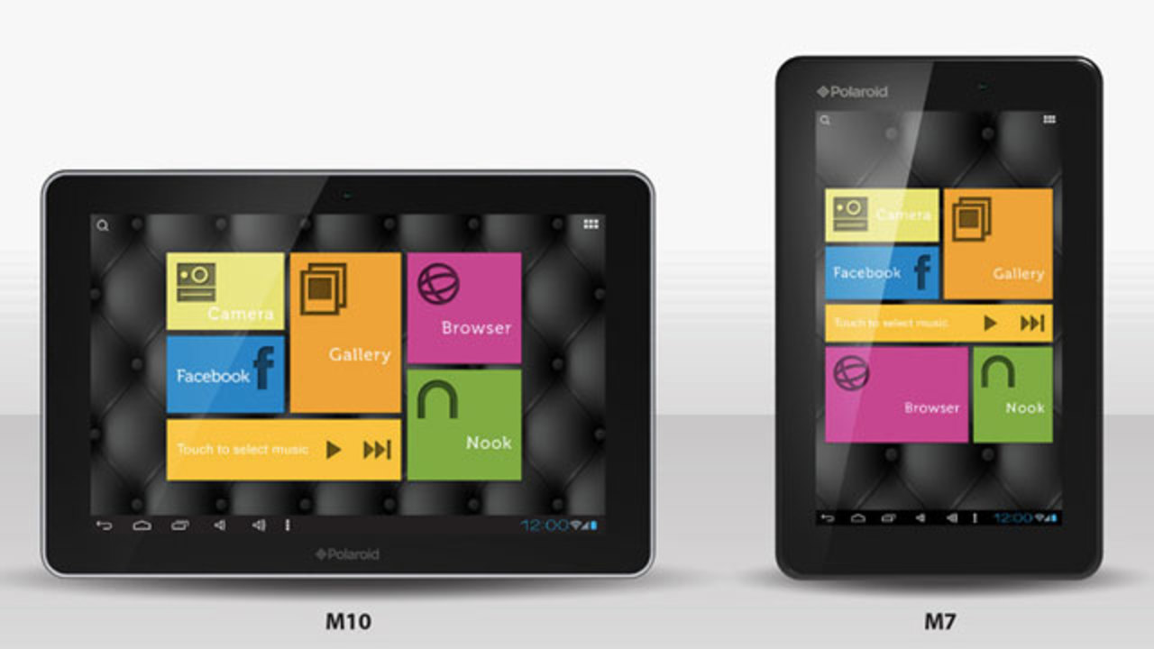 [ #CES2013 ]ポラロイドが低価格Androidタブレット端末を発表!