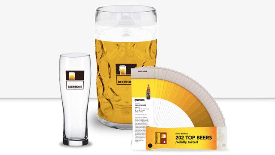 ビールの色見本帳、パントンならぬビアトン