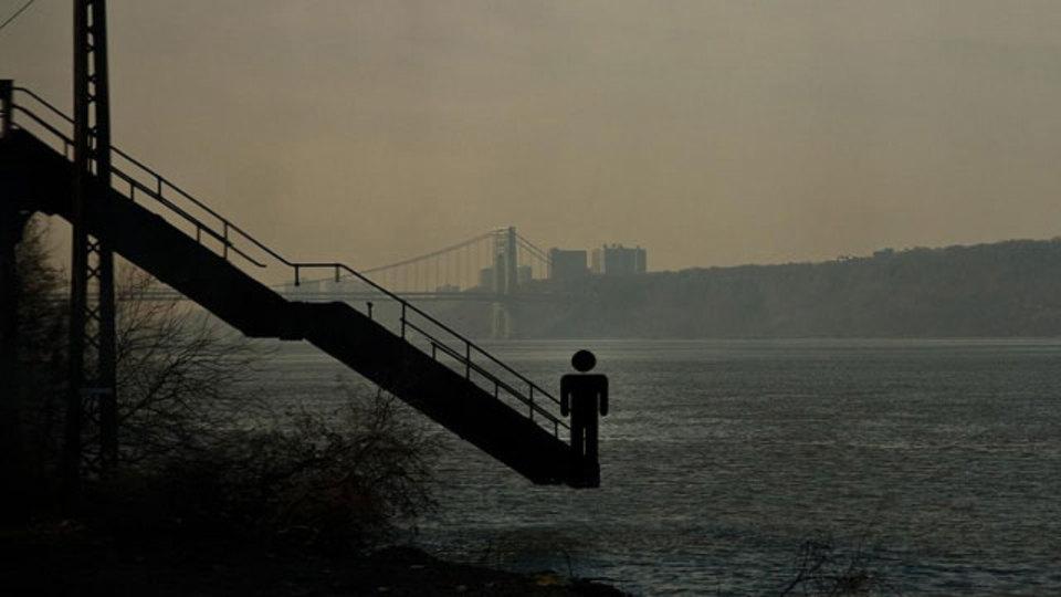 ここではないどこかへ...、どこにも行けない階段ギャラリー