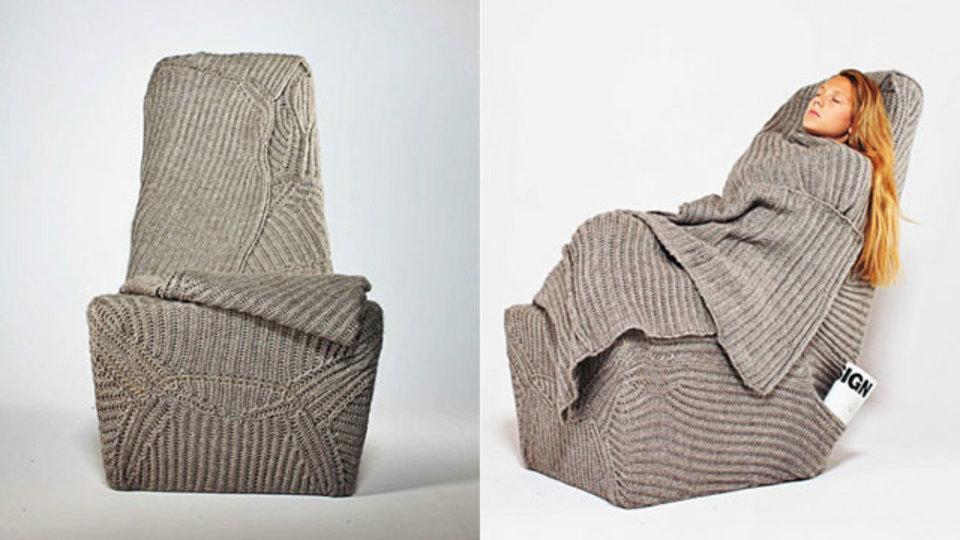 着る毛布でダメ人間になってしまった人へ、リハビリ第1弾「着るイス」