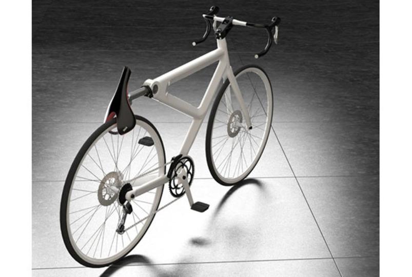 自転車をサドルでロックするというアイデア