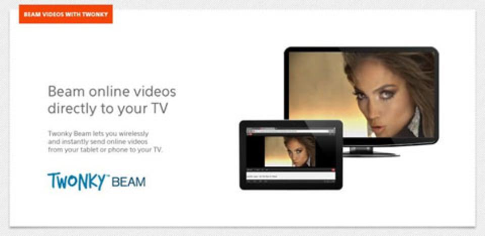 HDDレコーダーに溜まった番組が持ち出せる、スマホアプリ「Twonky Beam」