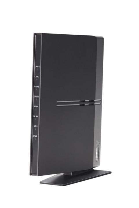 パソコンがなくてもスマホで設定できる高速無線LANルーター「LAN-W451NGR」