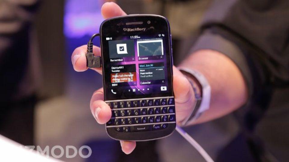 BlackBerry Q10が、フラッグシップじゃないなんて...