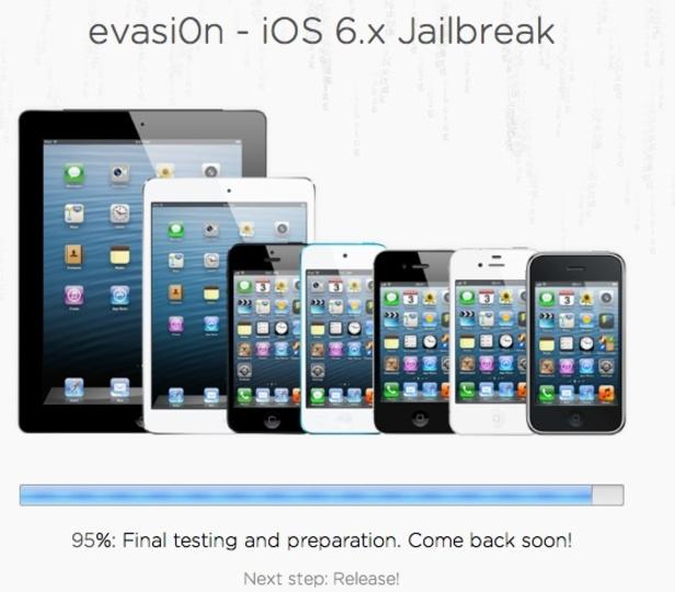 あと5%! iOS 6.1脱獄ツールの「evasi0n」がリリース間近