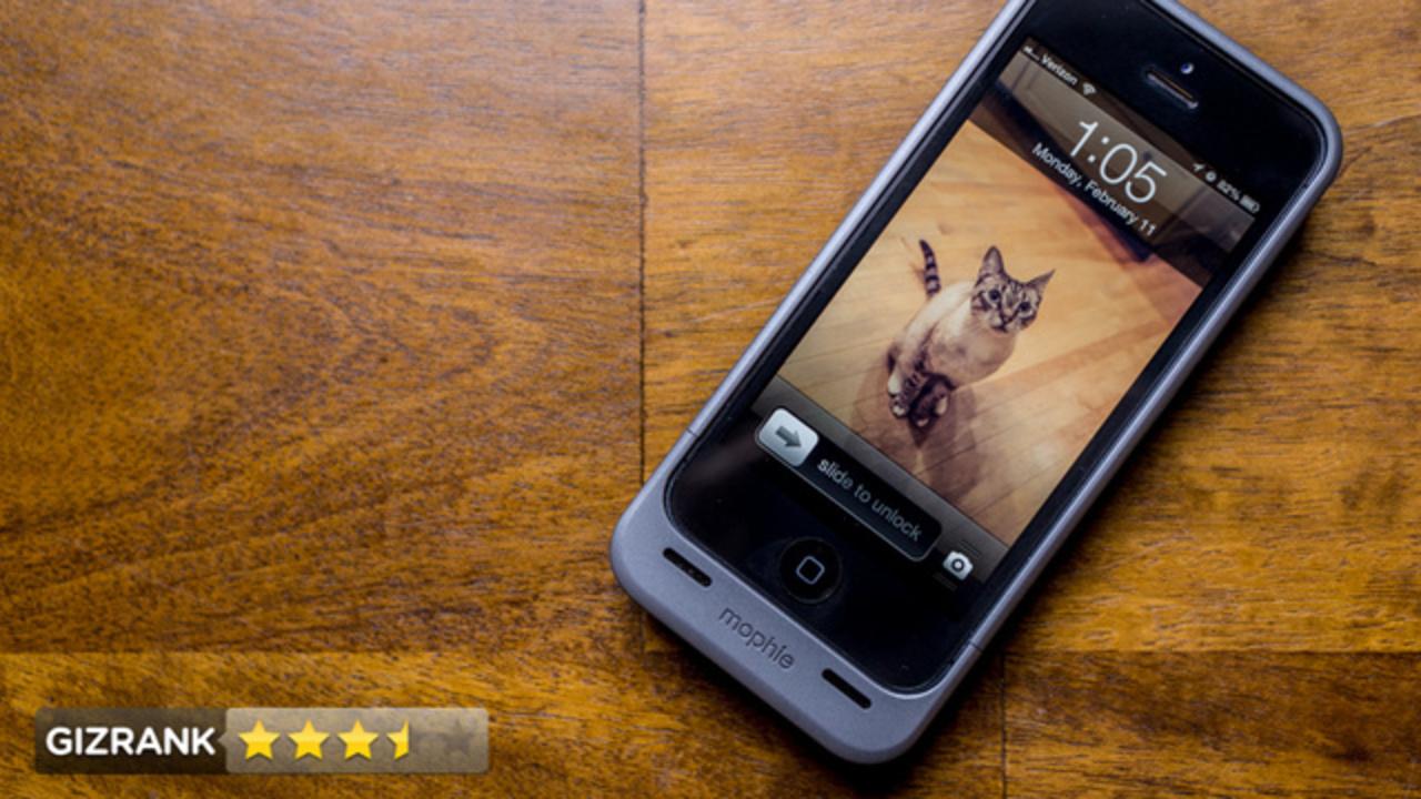 待望のiPhone 5用バッテリーケース「Juice Pack Helium for iPhone 5」レビュー