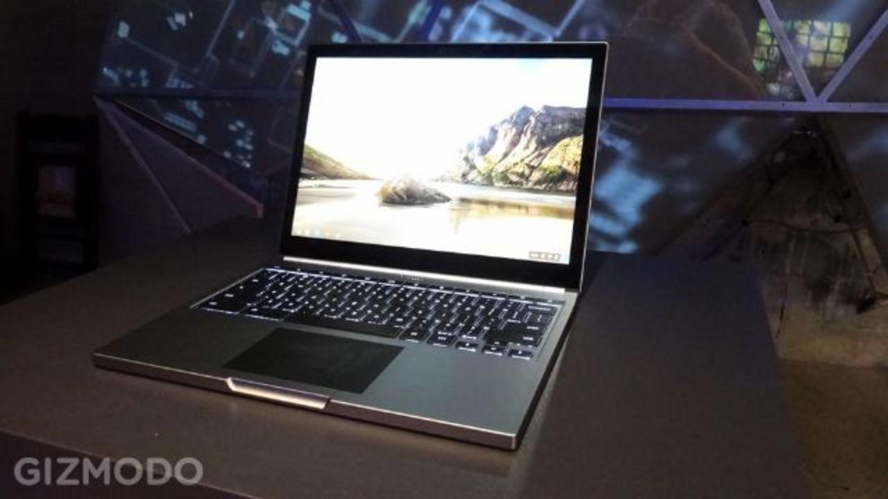 Chromebook Pixel:Retina級でタッチスクリーンなMacBook Pro対抗機